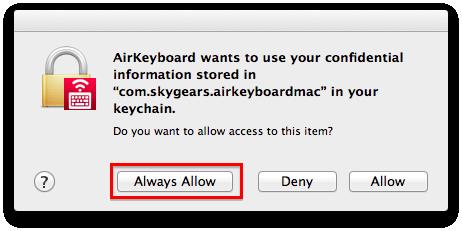 Air Keyboard – FAQ